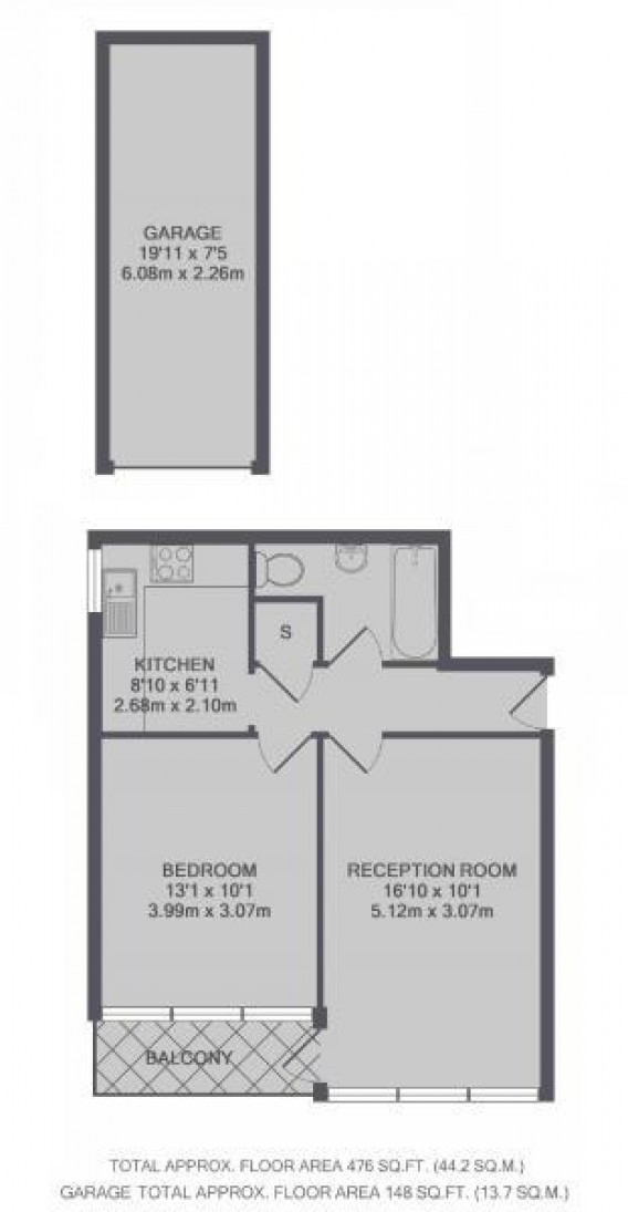 Floorplans For Arlington Road, Twickenham