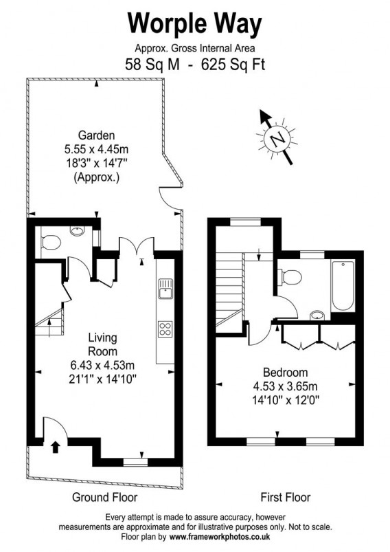 Floorplans For Worple Way, Richmond
